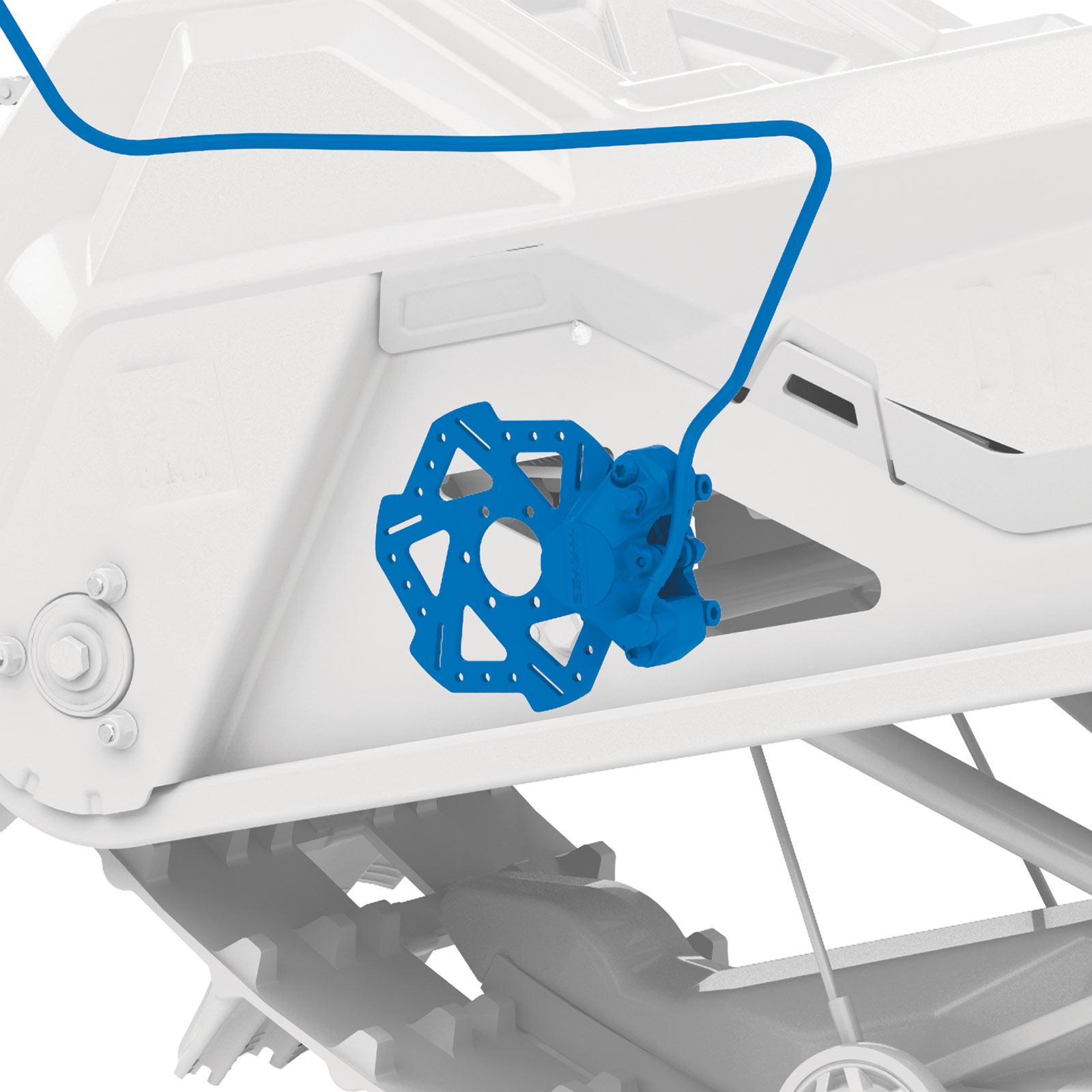 Pre-bled brake system