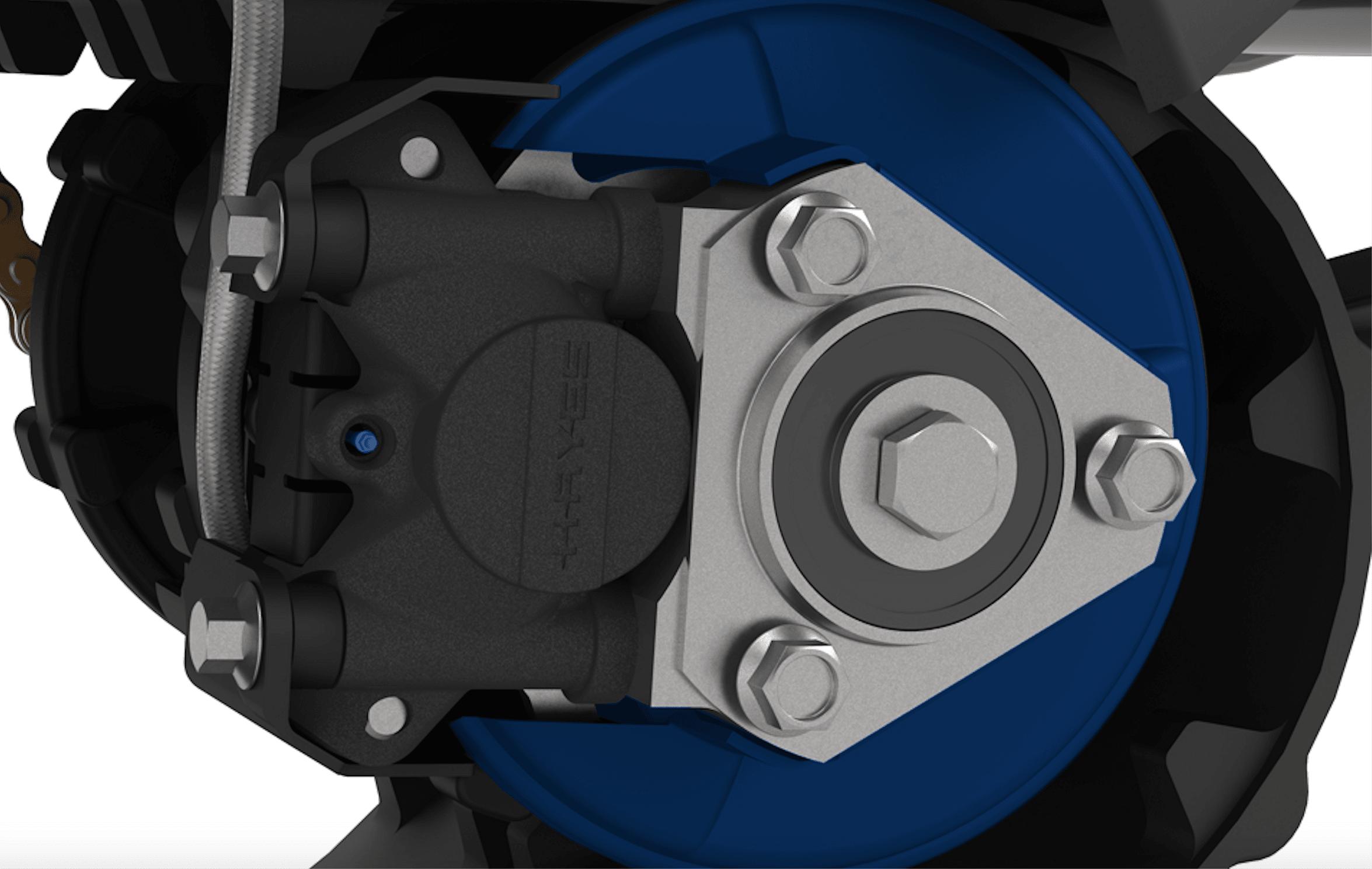 DTS 129 Polymer brake