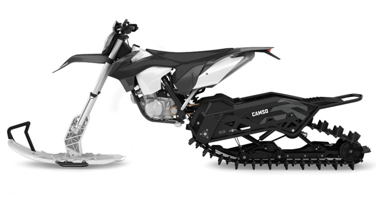 DTS 129 - Dirt bike - conversion system – Products | Camso