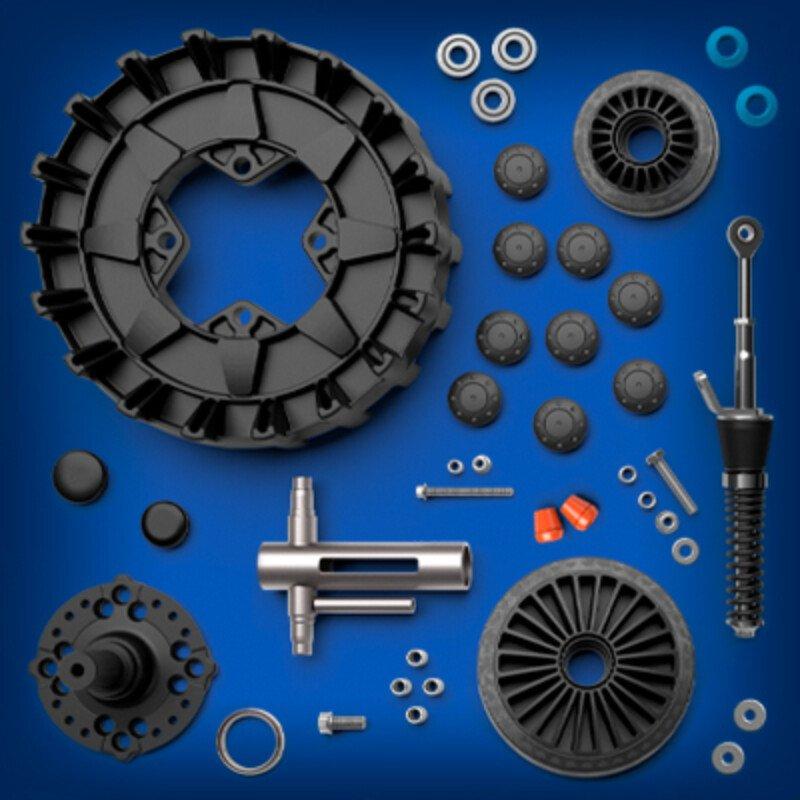 Camso ATV UTV X4 S parts components tile