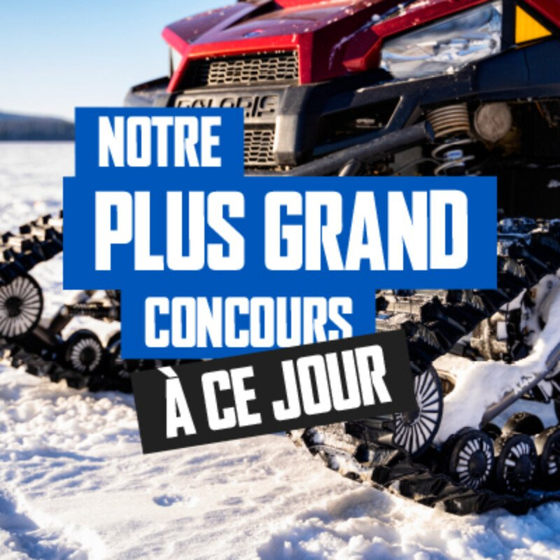 Camso Powersports VTT cote a cote systeme chenilles concours gagner Mosaique 400x400 FR
