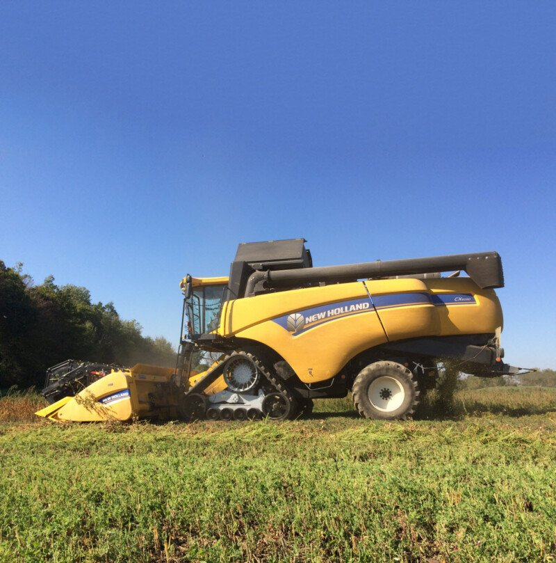 New Holland with CTS High Speed