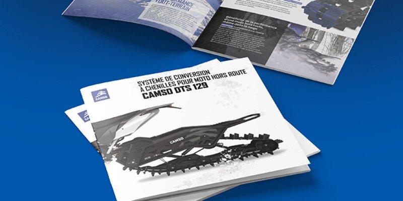 Snowbike DTS 129 Brochure 2021 Mosaique FR