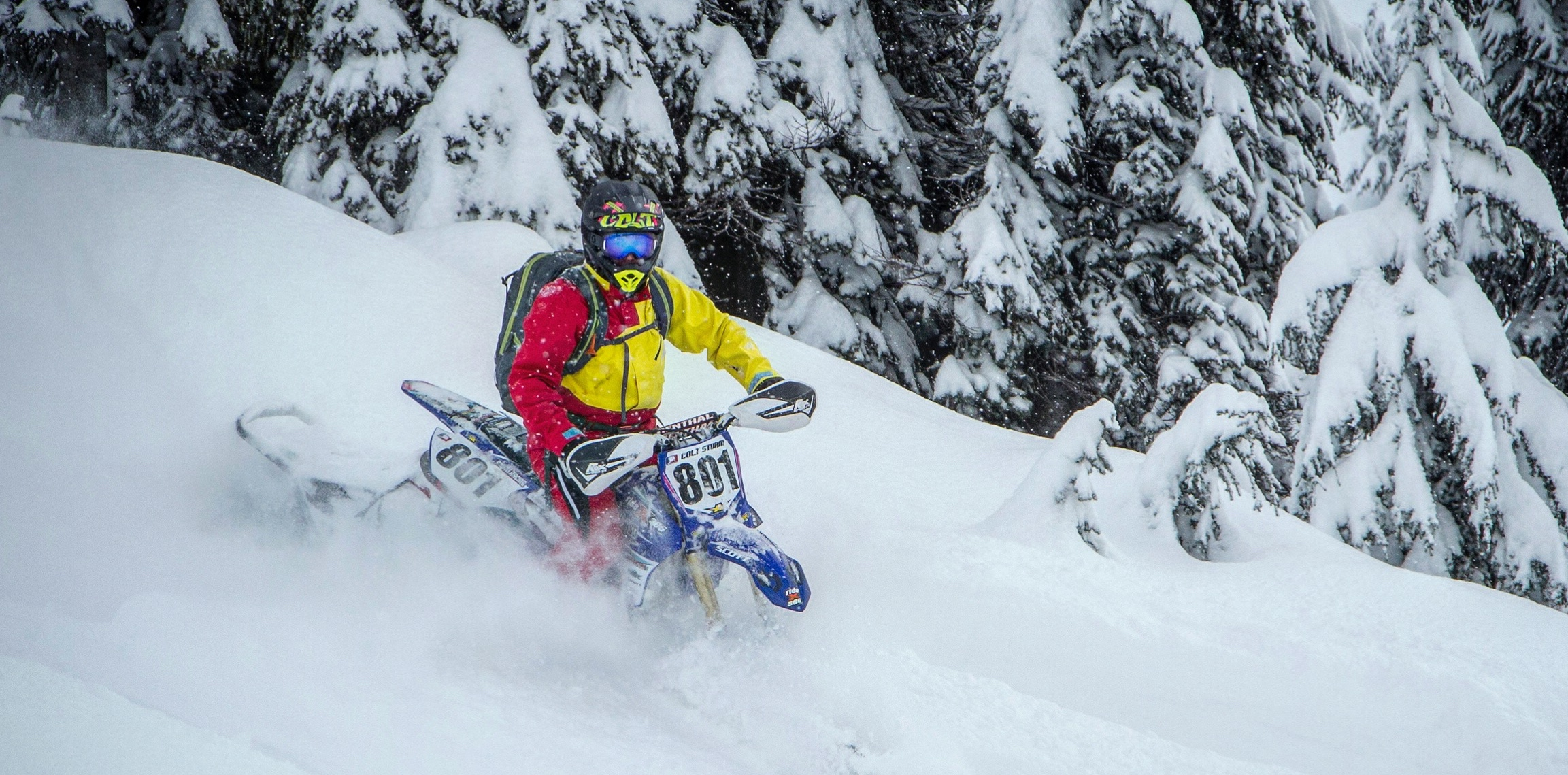 Powersports Feature Ama Championship Snow Bike Series