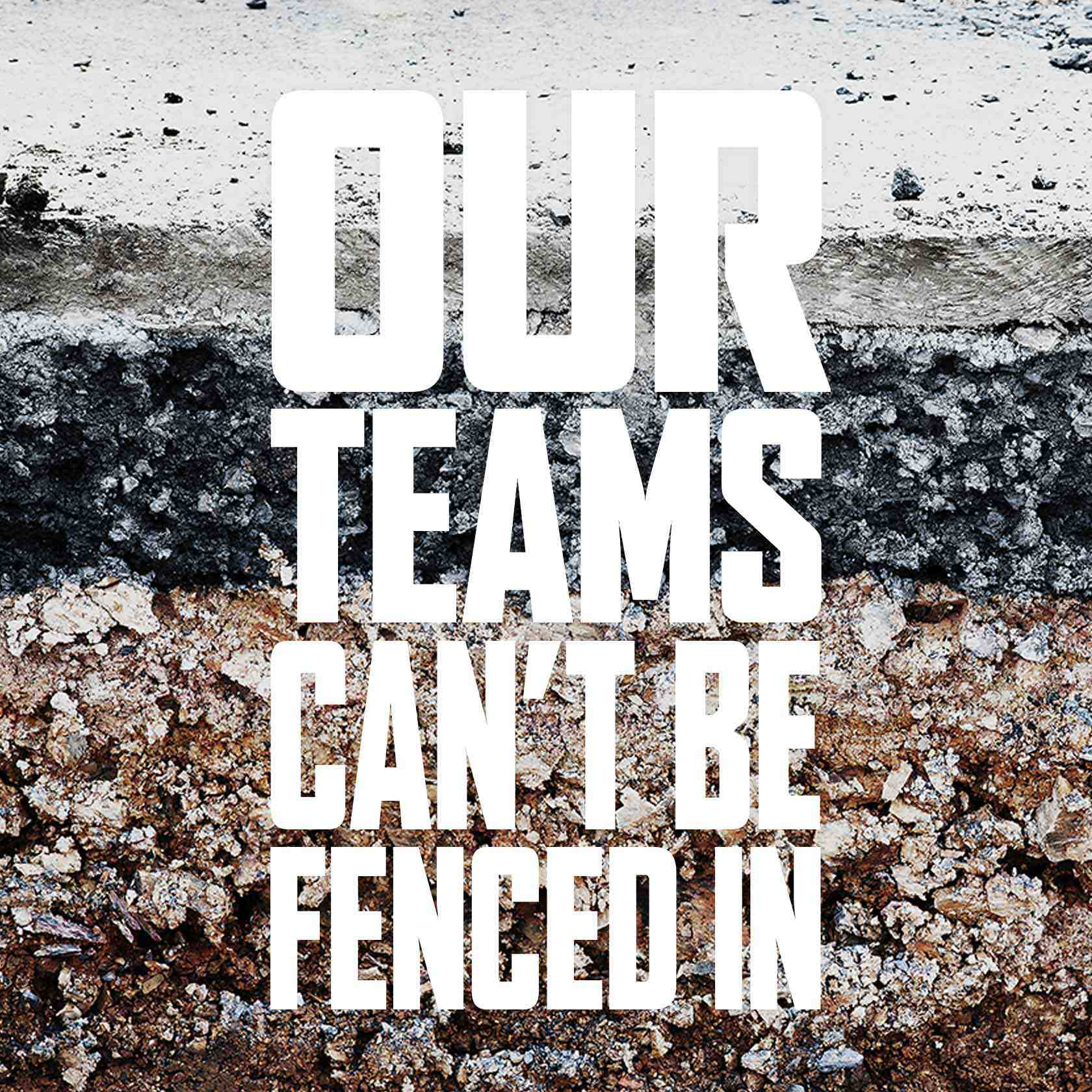 Our Teams Cant Be Fenced In En