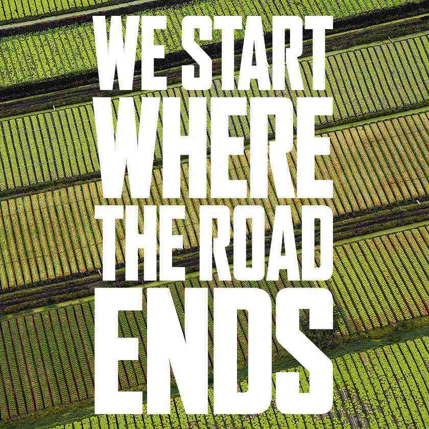 We Start Where The Road Ends Ag En