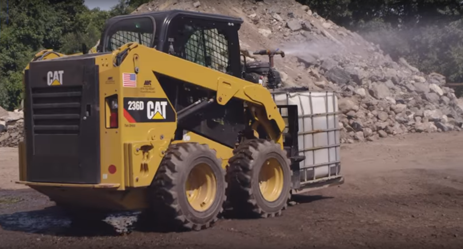 Construction Thubnail Video Skid Steer Tire