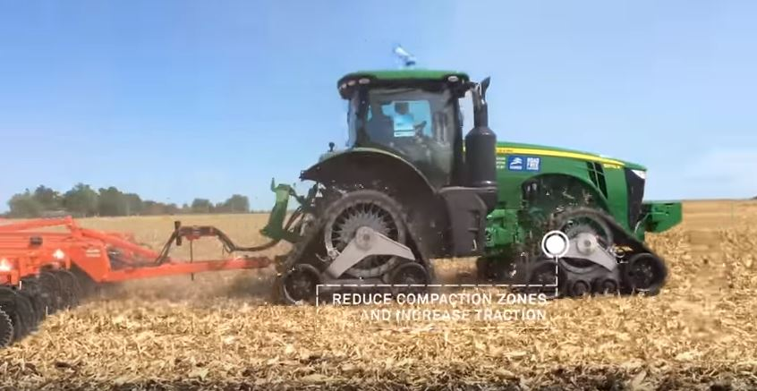 Easily Convert Your Tractor To Tracks With Camso Cts