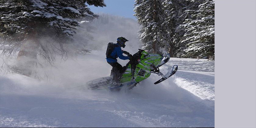 The 4 keys to snowmobile track selection