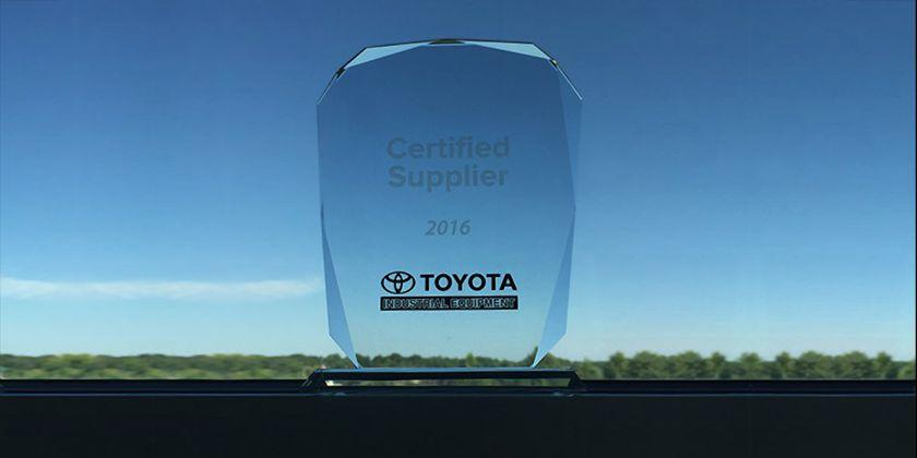 Camso receives Toyota Certified Supplier Award