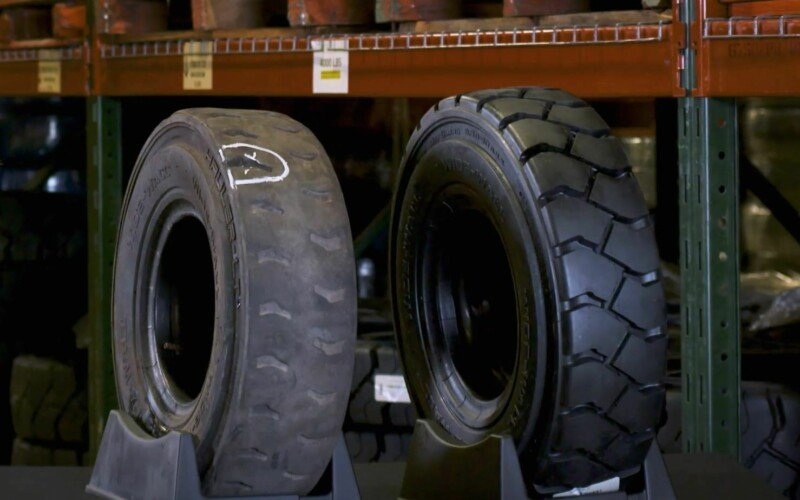 Content room tire wear