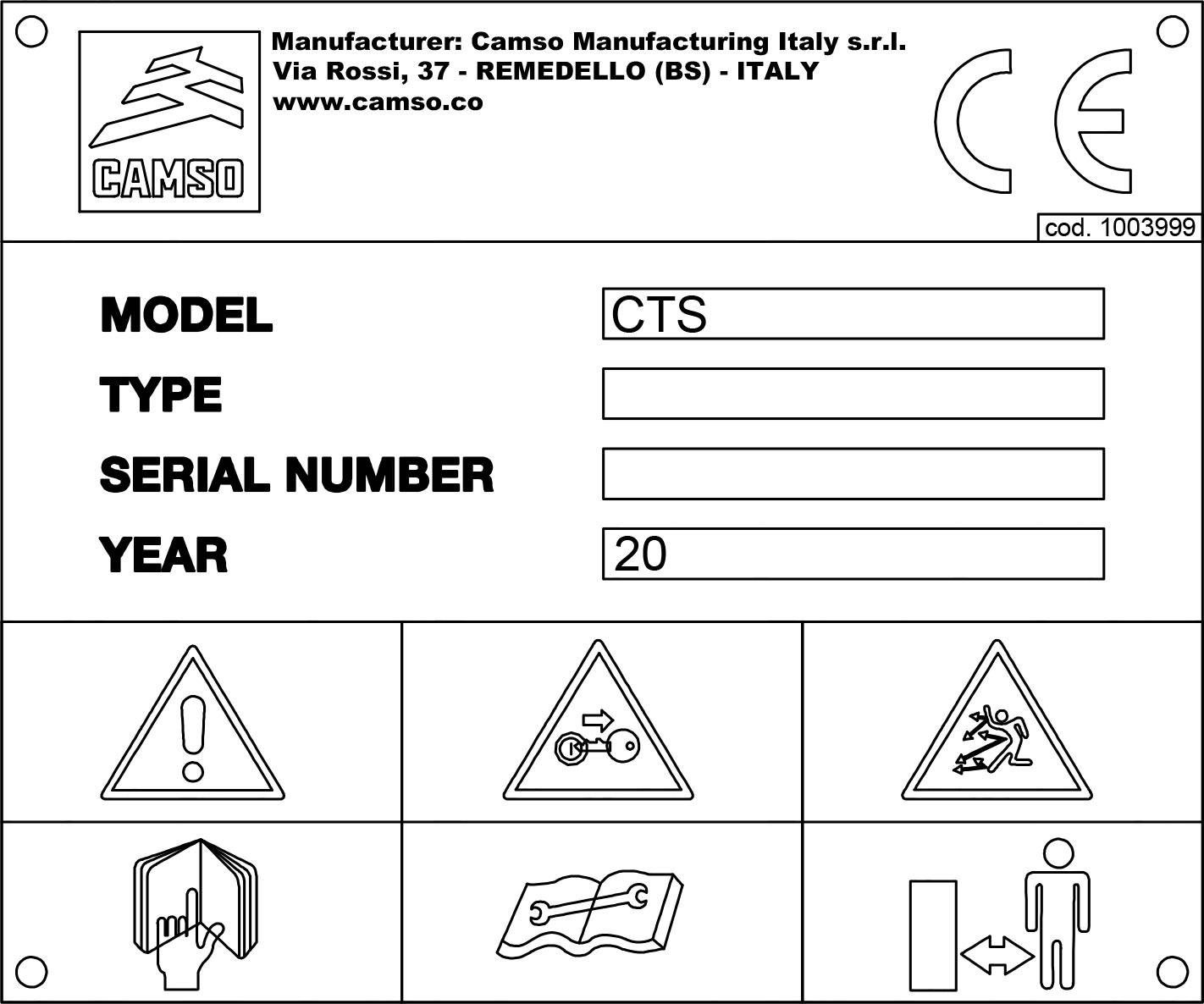 Track system registration   Camso